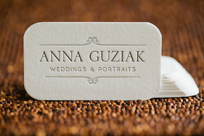 business cards » Anna Guziak Photography – Chicago Wedding ...